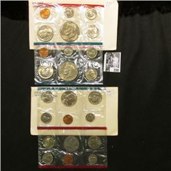 1978 & 1979 U.S. Mint Sets. Original as issued. Total of $7.64 face value.