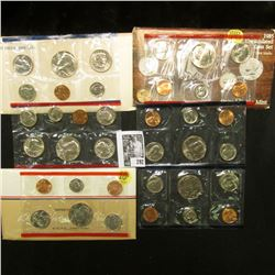 1981, 1985, & 1986 U.S. Mint Sets, original as issued.