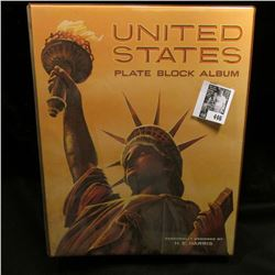 "Like new ""United States Plate Block Album"" by H.E. Harris."