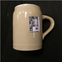 "Stoneware Advertising Mug ""MalVaz Extract Co. Chicago""."