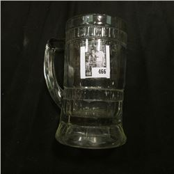 "Clear Gass Mug ""Rochester Root Beer""."
