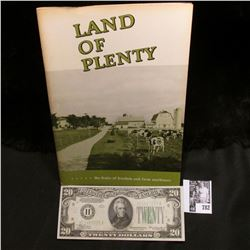 "1950 Preliminary Edition ""Land of Plenty***** the fruits of freedom and farm machinery"", published b"