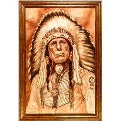"""Iron Eyes"" by D. Golden"