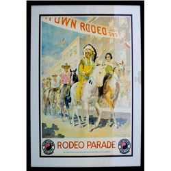 """Rodeo Parade"" Poster"