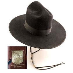 Black Stetson Visalia California Hat