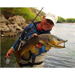 Argentina Northern Patagonia Lodge Fly Fishing Trip for (2) Anglers