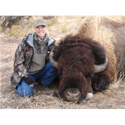 2-Day/2-Night New Mexico Bison Hunt for 1 Hunter & 1 Observer