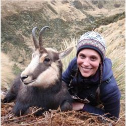 4-Day New Zealand Red Stag & Alpine Chamois Hunt for 2 Hunters