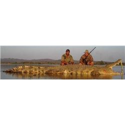 7-Day South Africa Nile Crocodile and Sable Safari for 2 Hunters & 2 Observers