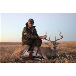 5-Day Montana Trophy Whitetail or Mule Deer Rifle Hunt for 1 Hunter