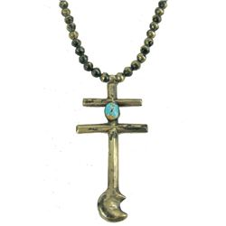 Pueblo Cross Necklace