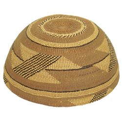 Yurok Basket Hat