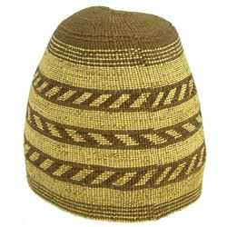 Wintu Basketry Hat