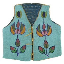 Blackfeet Beaded Boy's Vest