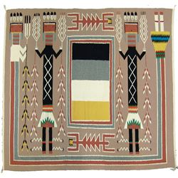 Navajo Rug/Weaving - Jessie Harvey