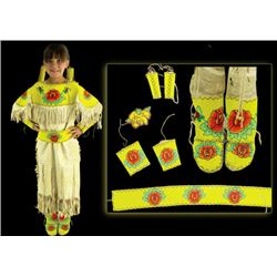 "Flathead Girl's Outfit - Agnes ""Oshanee"" Kenmille"