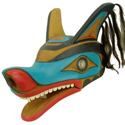 NW Coast Wolf Mask - Tom Otterlifter
