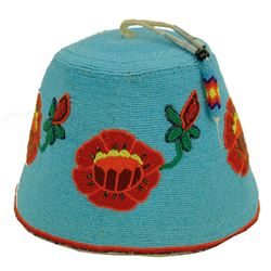 Nez Perce Beaded Hat