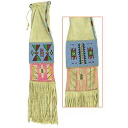 Sioux Beaded & Quilled Pipe Bag