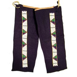 Plains Beaded Leggings