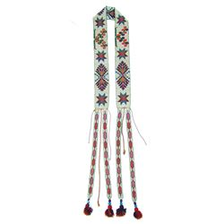 Potawatomi Beaded Sash