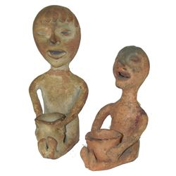 Tesuque Pottery Figures