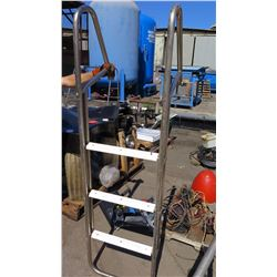 Stainless Steel Ladder 72  x 21