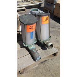 Qty 2 Perco 493 Series Water Strainer