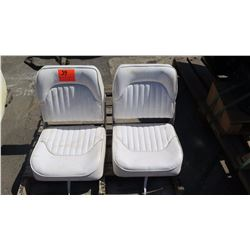 Qty 2 Marine Chairs/Boat Seats