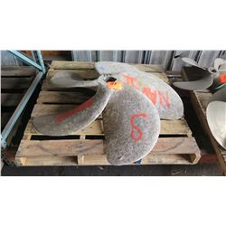 "Michigan Workboat Propeller - 55"" Diameter, 3.467"" Shaft"