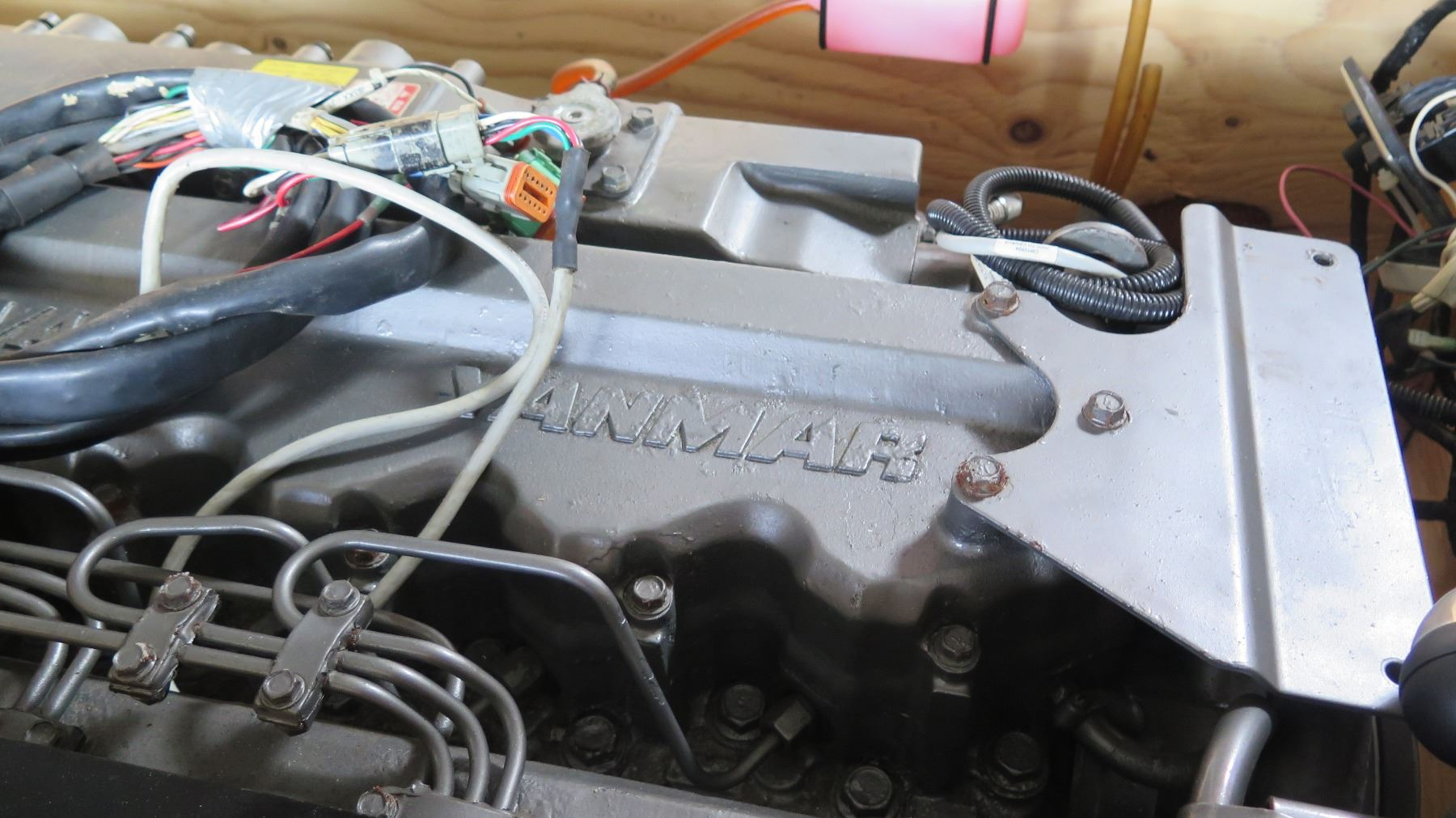 27642561_3?v=8D4DD5A3FA844F0 yanmar 6ly3 etp engine has approx 400 hours Wire Harness Assembly at mifinder.co