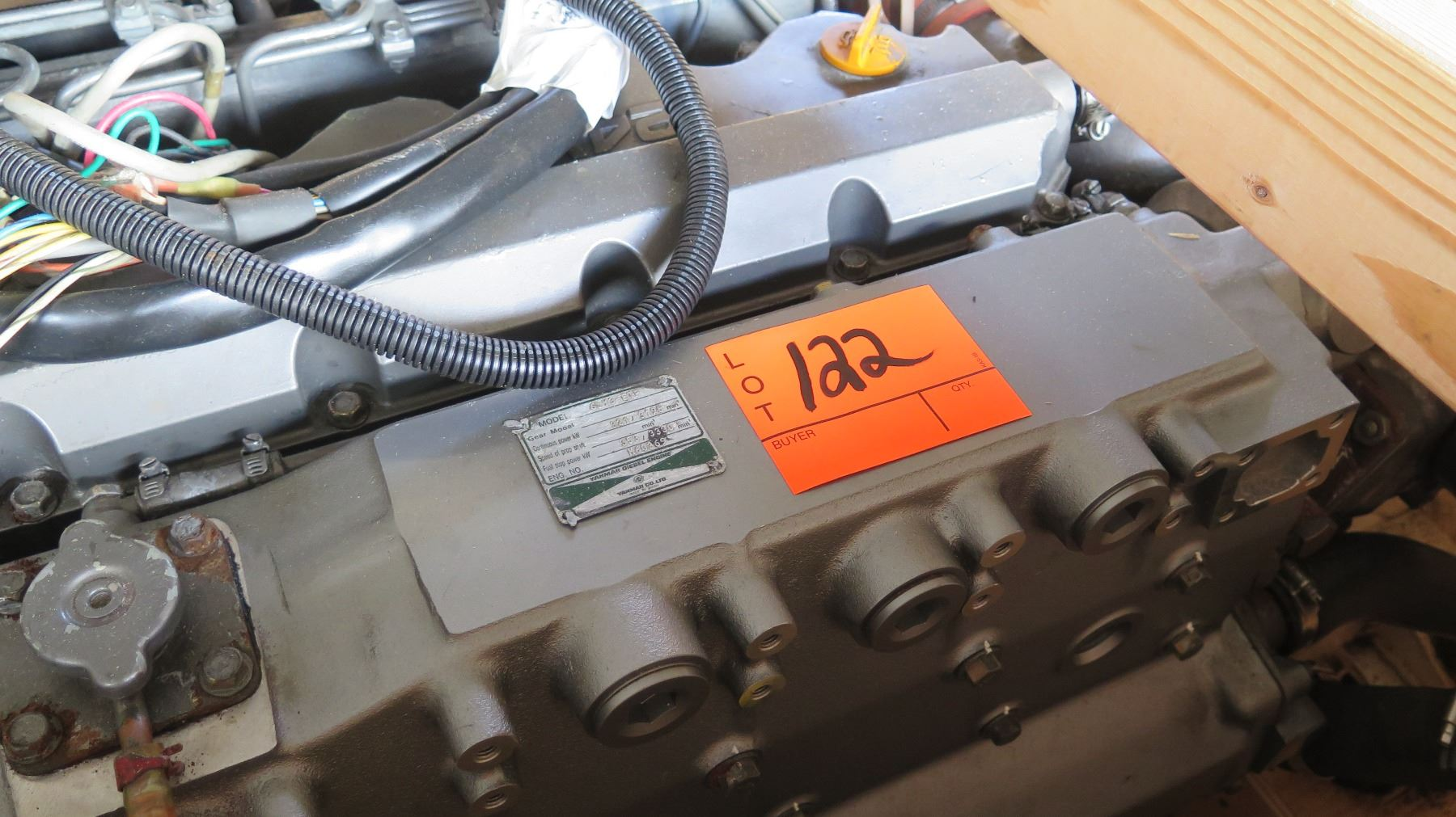 Yanmar 6ly3 Etp Engine Has Approx 400 Hours Wiring Harness Image 4