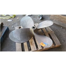 "Bronze Propeller - 55"" Diameter, 2.836"" Shaft"