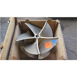 "Brass Propeller for Q Speed Surface Drives, 34"" Diameter"