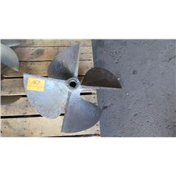 "Bronze Propeller - 26"" Diameter, 1.822"" Shaft"