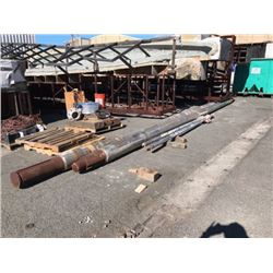 "Pair of Stainless Steel Shafts - Length: 34.5 ft  Diameter: 11.5"" (From 85' Vessel)"