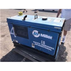 "Miller Big Blue 251D Portable Welding Generator (Welder/Generator), Tag Says ""No Good"""