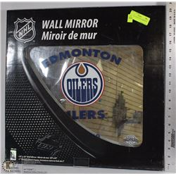 NEW NHL OILERS WALL MIRROR 20 X 20