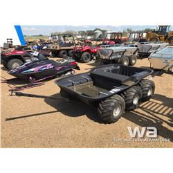2002 MAX / ARGO 6-WHEEL TUB TRAILER