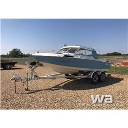 1993 CANAVENTURE 18 FT. OUTBOARD BOAT