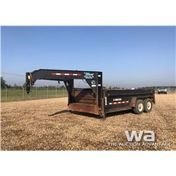 2013 TRAILTECH T/A 5TH WHEEL DUMP TRAILER