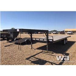 8 X 21 FT. T/A 5TH WHEEL TRAILER