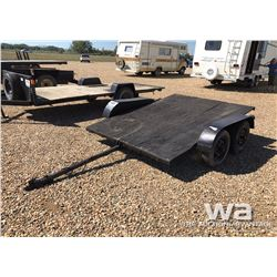 6 X 8 FT. T/A FLATDECK TRAILER