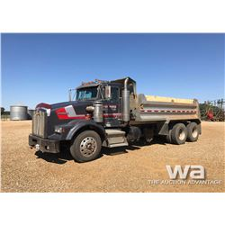 1995 KENWORTH T/A GRAVEL TRUCK