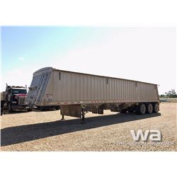 2013 DAKOTA 45 FT. TRIDEM GRAIN TRAILER