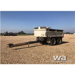 1978 KNIGHT T/A GRAVEL PUP TRAILER