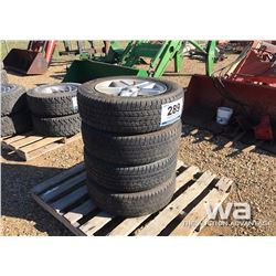 (4) JEEP P215/65R17 GOODYEAR TIRES & RIMS