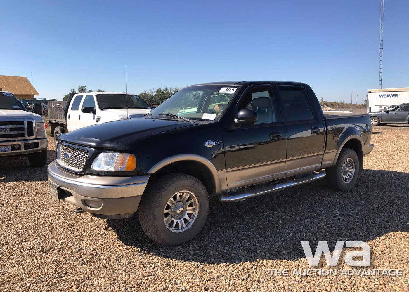 Image 1 2003 ford f150 king ranch p u