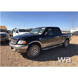 2003 FORD F150 KING RANCH P/U