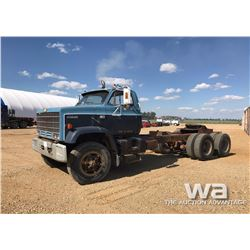 1981 CHEV KODIAK T/A TRUCK CAB & CHASSIS
